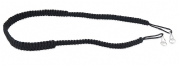 Black Braided binocular Strap